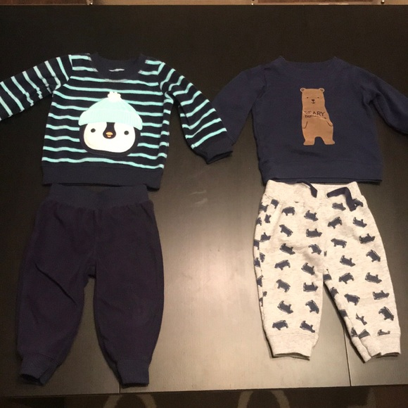 Just One You by Carter's Other - WINTER OUTFITS, SWEATPANTS AND SWEATSHIRT, 9 MONTH